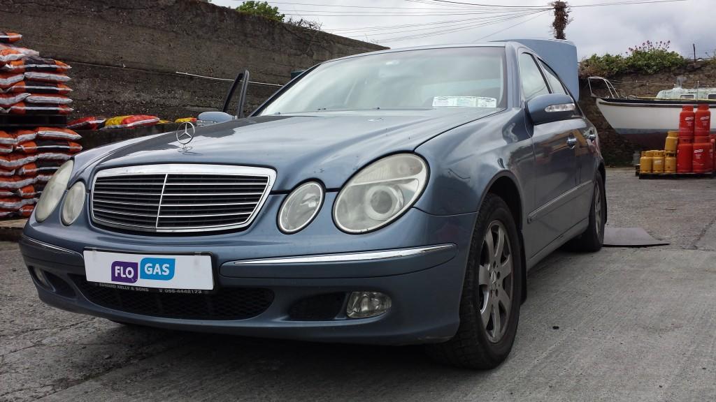 Mercedes e200 Autogas