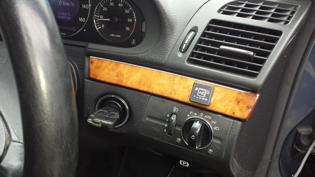 LPG indicator switch