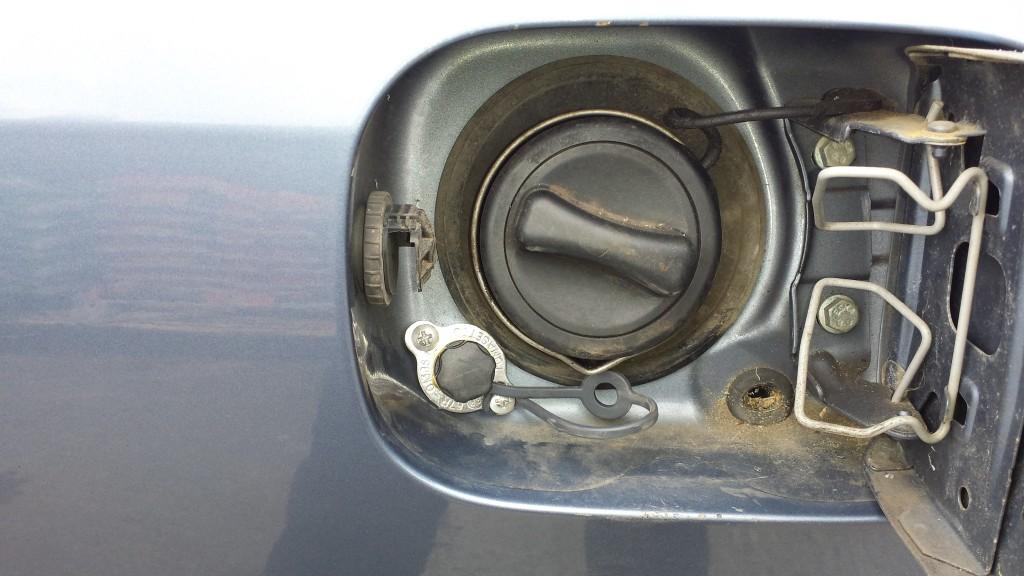 LPG fuel filler