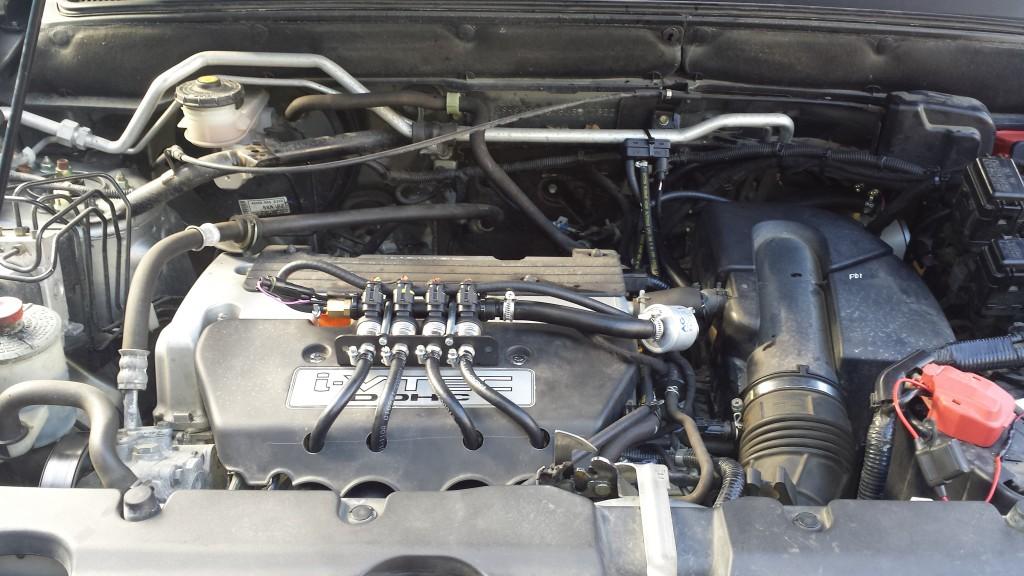 Honda CRV Zenit Pro OBD Hanna injectors