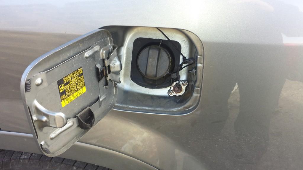 Honda CRV fillin g point