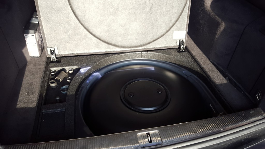 Audi A6 Autogas LPG tank