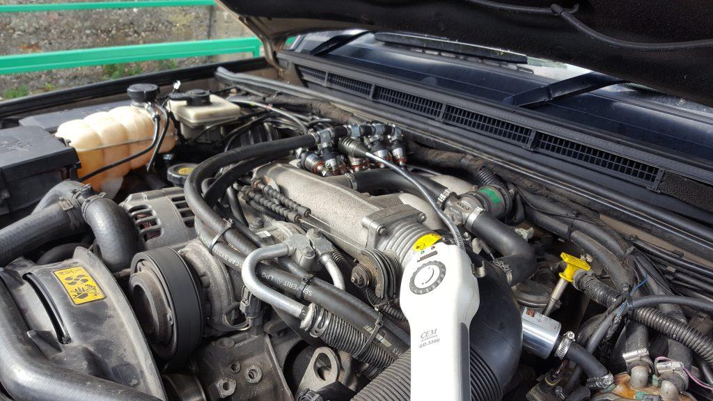 V8 lpg